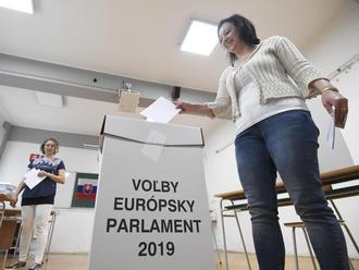 AKTUÁLNE Eurovoľby 2019: Predbežné výsledky hlásia úspech strany Smer