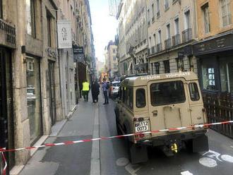 AKTUÁLNE V Lyone explodoval podozrivý balík: VIDEO Medzi zranenými má byť aj osemročné dievčatko