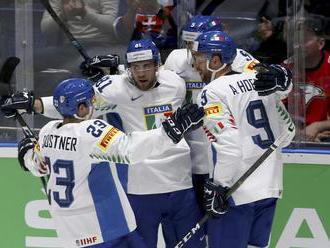 Video: Taliansko na MS v hokeji 2019 v dráme porazilo Rakúsko a udržalo sa medzi elitou