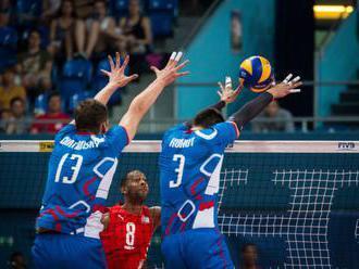 Slováci v dvoch setoch ničili Belgičanov, ale zápas Zlatej európskej ligy napokon nevyhrali