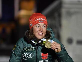 Slovenské biatlonistky majú o súperku menej, Dahlmeierová predčasne ukončila kariéru