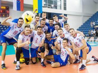 Slovenskí volejbalisti v poslednom súboji Zlatej európskej ligy zdolali Belgicko