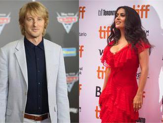 Salma Hayek a Owen Wilson sa spolu predstavia v sci-fi dráme Bliss