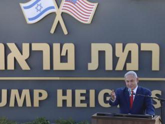 Netanjahu pojmenoval na Golanech osadu po Trumpovi