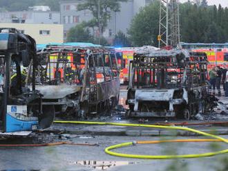Požár v garážích DPO způsobil škodu 22 milionů korun