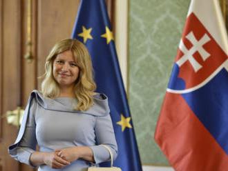 Slovenská prezidentka Čaputová ve čtvrtek navštíví Česko