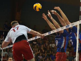 Volejbalisté prohráli na Ukrajině a v Evropské lize nepostoupí