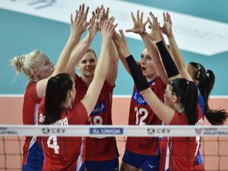 Volejbalistky porazily v EL Švédsko a znovu si zahrají Final Four