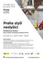 """Festival """"Praha slyší neslyšící"""" v Galerii Harfa"""