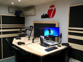 Rádio 7 vysiela z nového štúdia