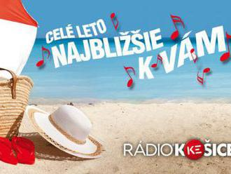 Rádio Košice celé leto najbližšie k vám