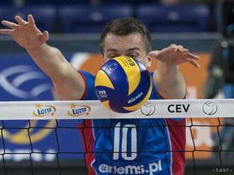 Zlatá európska liga: Slovenskí volejbalisti prehrali s Lotyšskom