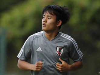 Japonský útočník Kubo prestúpil do Realu Madrid