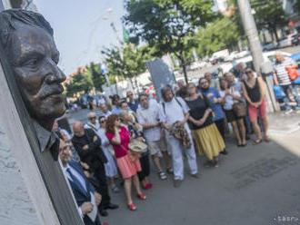 V Bratislave si uctili zakladateľa Ústavu pamäti národa J. Langoša