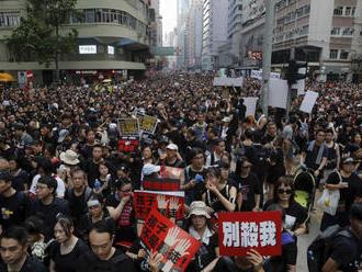 V Hongkongu pokračujú protesty proti návrhu zákon o extradícii