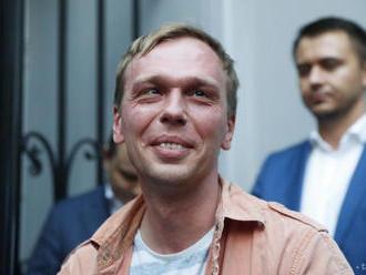 Novinár Golunov vypovedal ako svedok v kauze, v ktorej bol obvinený