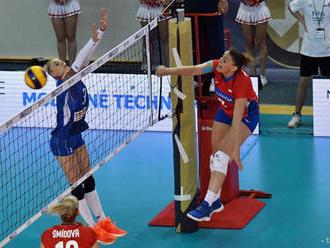 Zlatá európska liga: Volejbalistky SR prehrali s Češkami v A-skupine