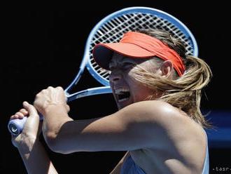 Šarapovová po návrate: Je skvelé vyhrať zápas na WTA Tour