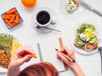 Dve rady, ako vám stravovací denník pomôže schudnúť