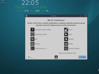 MX Linux 18.3: příjemný asnadno použitelný desktop