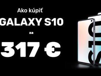 NÁVOD: Takto pri kúpe Samsung Galaxy S10 dokážete znížiť cenu o 420 €!