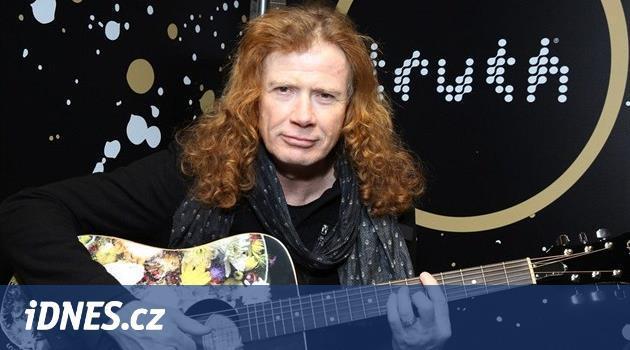Hudebník Dave Mustaine oznámil, že má rakovinu. Kapela Megadeth ruší koncerty