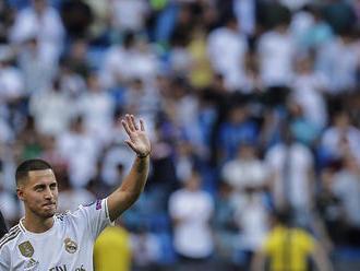 Real Madrid predstavil Hazarda. Chceme aj Mbappého, skandovali fanúšikovia