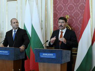 Prezidenti Maďarska a Bulharska: Je potrebné rozvíjať infraštruktúru z fondov EÚ