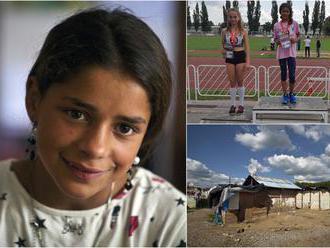 Annamária z chatrče: ako žije rok po víťazstve talentovaná rómska bežkyňa