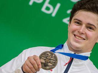 Nepejchal po druhé medaili v Minsku: Kopl bych se do zadku