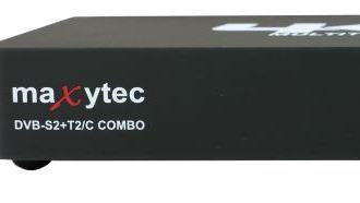 MAXYTEC Multibox 4K - DVB přijímač s kombinovaným tunerem a multibootem