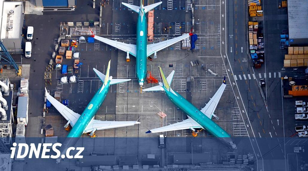 Boeing údajně omezuje fyzické testy nových letadel, navzdory krizi 737 Max