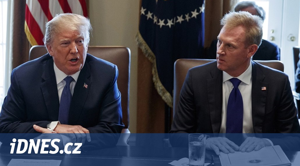 Shanahan už nechce být ministrem obrany USA, funkci převezme jeho náměstek