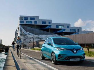Nový Renault Zoe bude mať väčší dojazd na nabitie