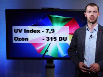 Videopredpoveď: Nebezpečný UV index, na slnku iba 17 minút!