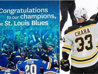 Gratulujeme, šampióni zo St. Louis! Lapsus denníka nakopol Boston