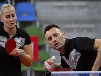 Stolní tenisti bojujú o olympiádu. Balážová nemôže hrať v sukni