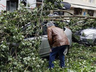 Búrky v Nemecku lámali stromy, zranili 20 ľudí