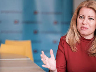 Prvé oficiálne stretnutia Čaputovej: prezidentka prijala Andreja Danka