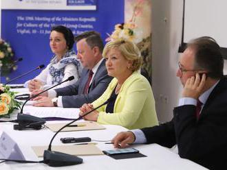 Mnistri kultúry V4 sa stretli vo Vígľaši, zhodli sa na podpore folklóru