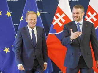 Premiér prijal Tuska, hovorili o kandidátoch na vysoké posty