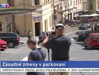 Turistami vyhľadávanú Štiavnicu čakajú zásadné zmeny v parkovaní
