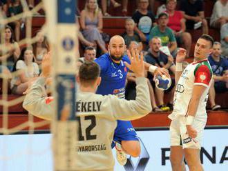 Slovenskí hádzanári s novým trénerom neuspeli, v kvalifikácii na ME 2020 tesne podľahli Maďarom