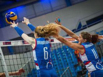 Slovenské volejbalistky po prehre s Češkami v Zlatej európskej ligy prišli o šancu na postup