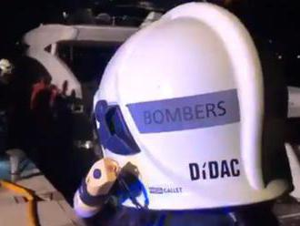 Video: Kličko a jeho rodina sa ocitli v ohrození života, v strojovni jachty vypukol požiar