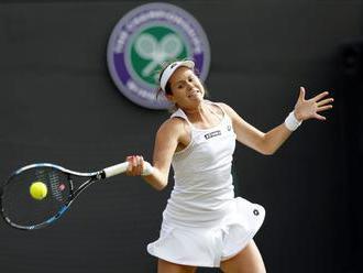 Jana Čepelová zvládla úvodnú prekážku v kvalifikácii Wimbledonu