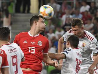 Maďarsko tesne zdolalo Wales a je na čele skupiny, Grécko doma prekvapivo padlo s Arménskom