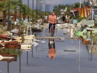 Na Chalkidiki sčítají škody po bouři, někde stále nejde elektřina