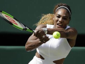 Williamsová může vyrovnat rekord Courtové, proti je Halepová