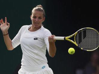 Tenistka Kristýna Plíšková je v Bukurešti ve druhém kole